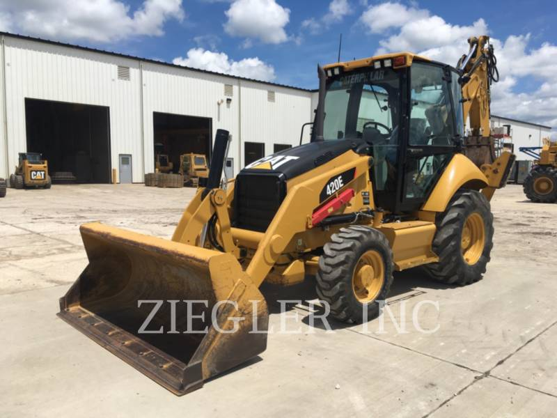 CATERPILLAR RETROESCAVADEIRAS 420E equipment  photo 3