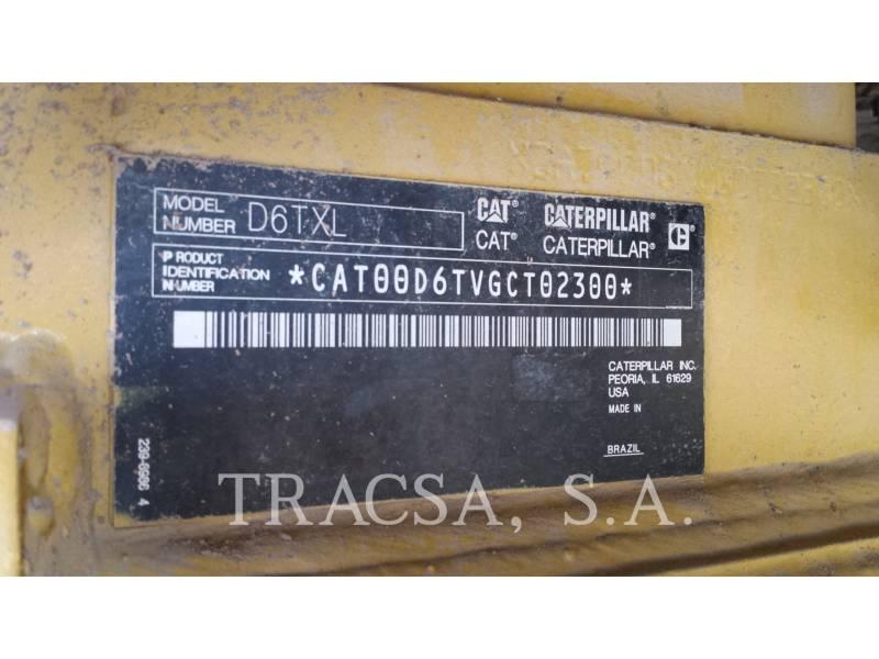CATERPILLAR TRACK TYPE TRACTORS D6TXL equipment  photo 10