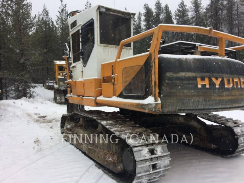 HYUNDAI FORESTRY - LOG LOADERS 210LC-3 equipment  photo 6