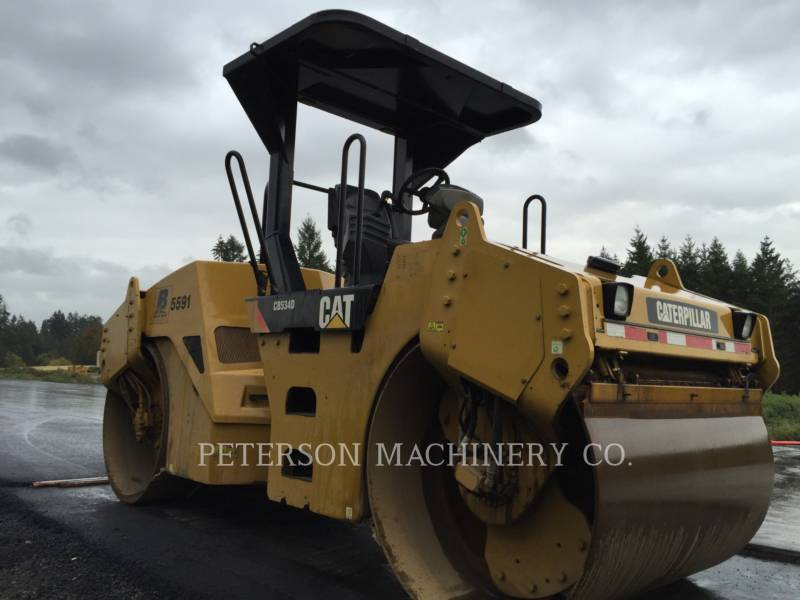 CATERPILLAR ASPHALT PAVERS CB-534D equipment  photo 4