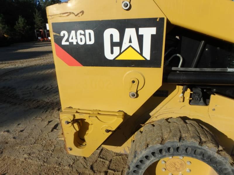Caterpillar MINIÎNCĂRCĂTOARE RIGIDE MULTIFUNCŢIONALE 246D equipment  photo 22