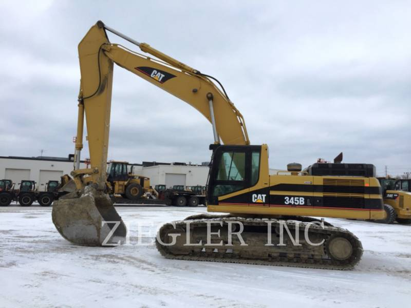 CATERPILLAR TRACK EXCAVATORS 345BIIL equipment  photo 6