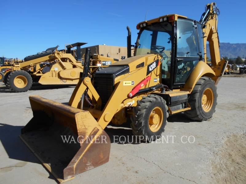 CATERPILLAR CHARGEUSES-PELLETEUSES 430F 4WDE equipment  photo 1