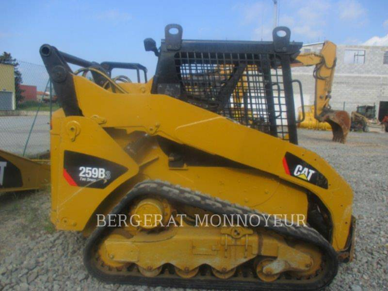CATERPILLAR CHARGEURS SUR CHAINES 259B3 equipment  photo 3