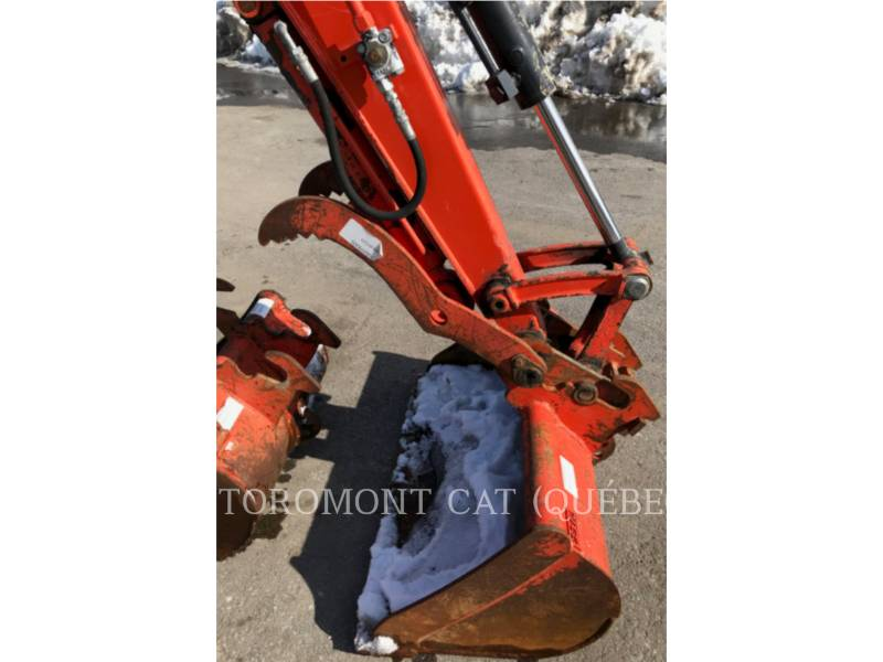 KUBOTA CORPORATION EXCAVADORAS DE CADENAS KX040-4 equipment  photo 14