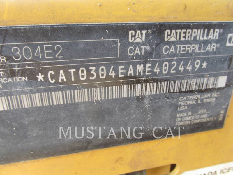 CATERPILLAR TRACK EXCAVATORS 304E2 CA equipment  photo 9