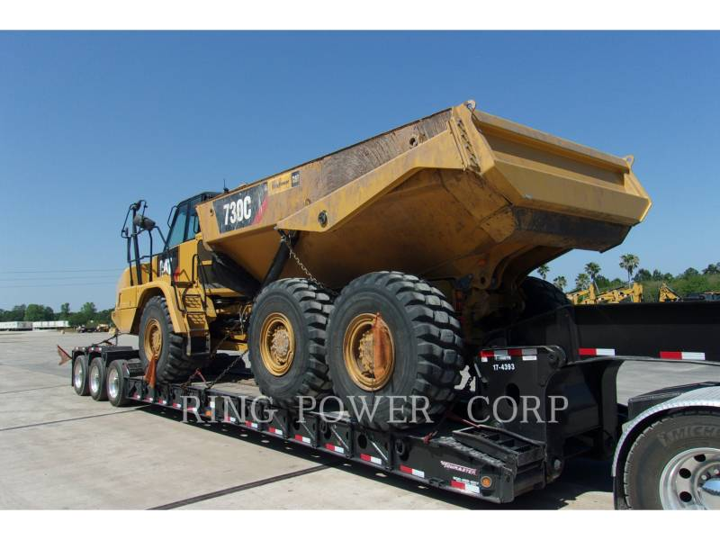 CATERPILLAR ARTICULATED TRUCKS 730CTG equipment  photo 4