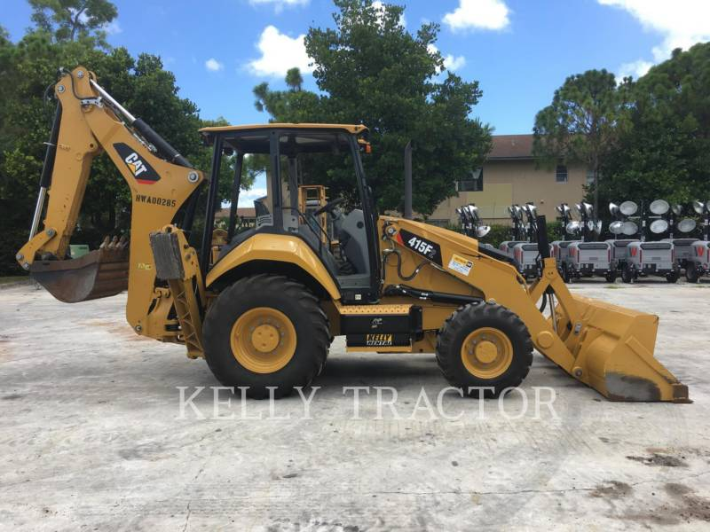 CATERPILLAR BAGGERLADER 415F2ST equipment  photo 6