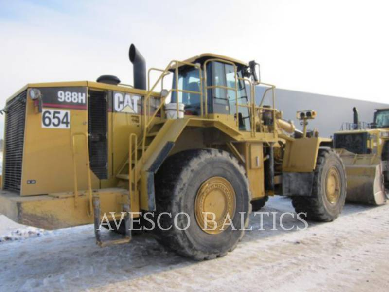 CATERPILLAR PALE GOMMATE/PALE GOMMATE MULTIUSO 988H equipment  photo 2