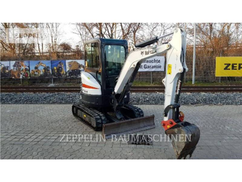 BOBCAT TRACK EXCAVATORS E26 equipment  photo 1