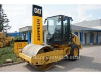 Equipment photo CATERPILLAR CS44 COMPATTATORE A SINGOLO TAMBURO VIBRANTE LISCIO 1
