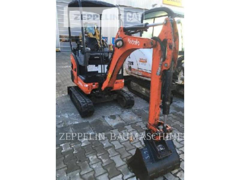 KUBOTA CORPORATION KOPARKI GĄSIENICOWE KX016-4 equipment  photo 1