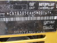 CATERPILLAR KETTEN-HYDRAULIKBAGGER 305E2 equipment  photo 9