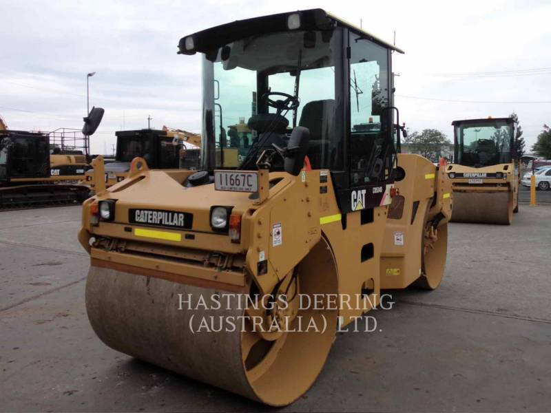 CATERPILLAR TANDEMOWY WALEC WIBRACYJNY DO ASFALTU (STAL-STAL) CB-534D equipment  photo 3