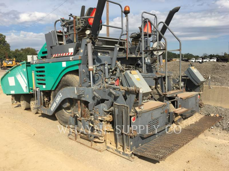 VOEGELE AMERICA ASPHALT PAVERS 5203-2 equipment  photo 1