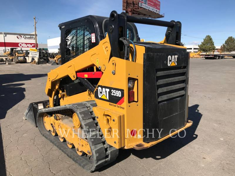 CATERPILLAR CHARGEURS COMPACTS RIGIDES 259D C3 HF equipment  photo 6