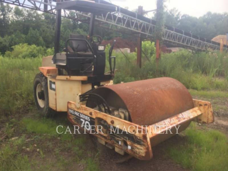 INGERSOLL-RAND COMPACTEURS IR SD70D equipment  photo 1