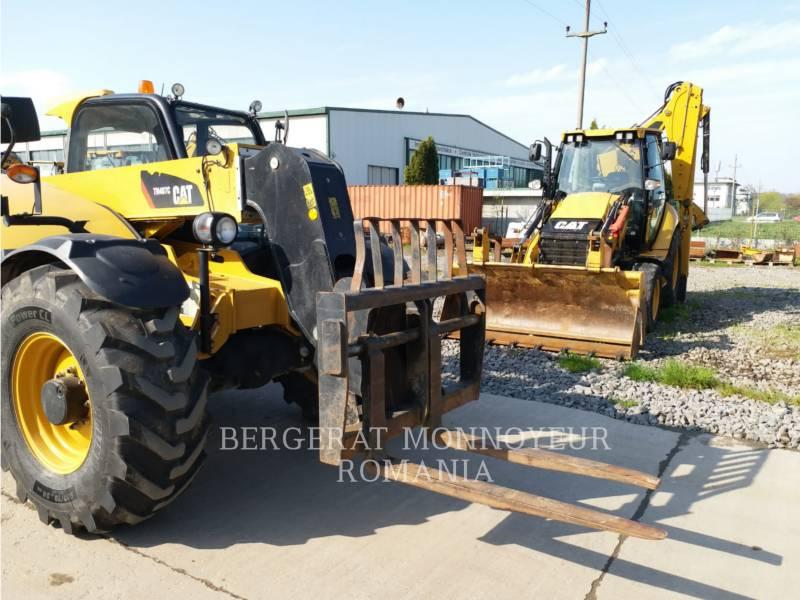 CATERPILLAR CHARGEUR À BRAS TÉLESCOPIQUE TH 407 C AGRI equipment  photo 3
