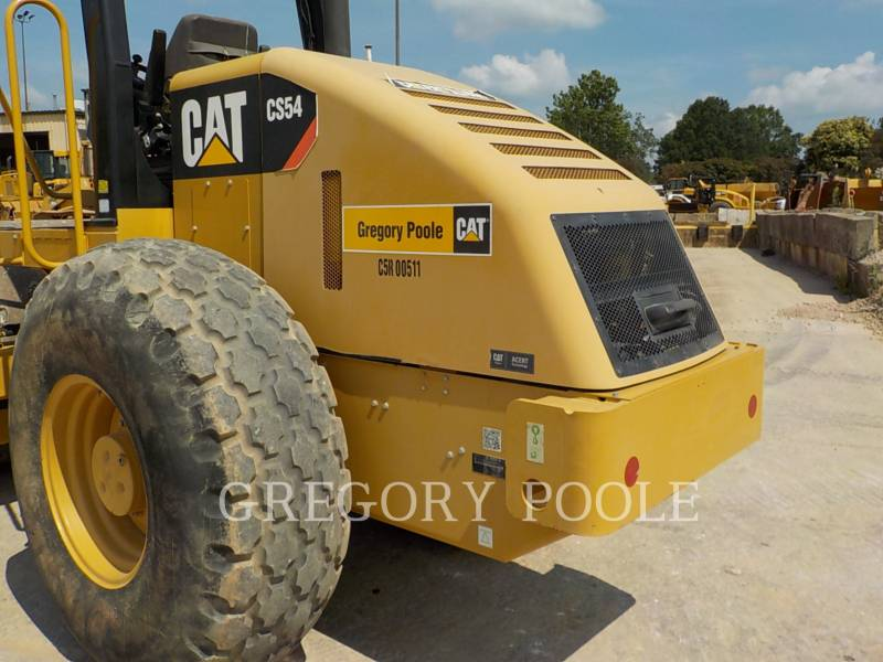 CATERPILLAR EINZELVIBRATIONSWALZE, GLATTBANDAGE CS-54 equipment  photo 11