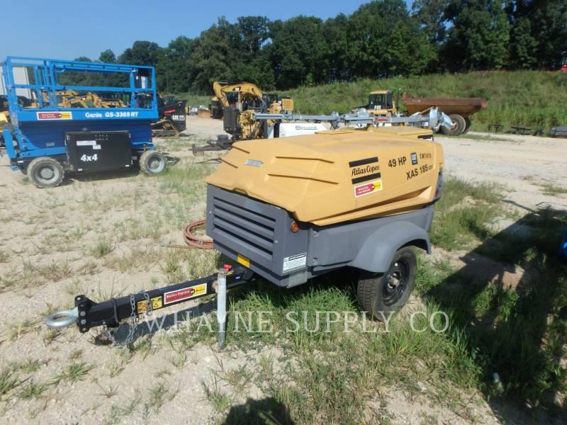 ATLAS-COPCO LUFTKOMPRESSOR 185CFM equipment  photo 7
