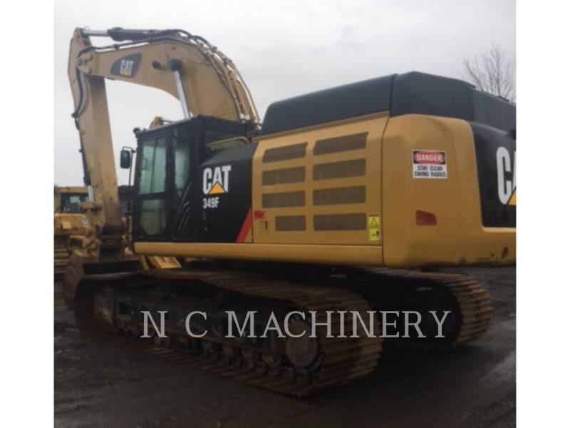 CATERPILLAR TRACK EXCAVATORS 349F L equipment  photo 2