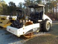 Equipment photo INGERSOLL-RAND SD116 COMPACTEUR VIBRANT, MONOCYLINDRE LISSE 1