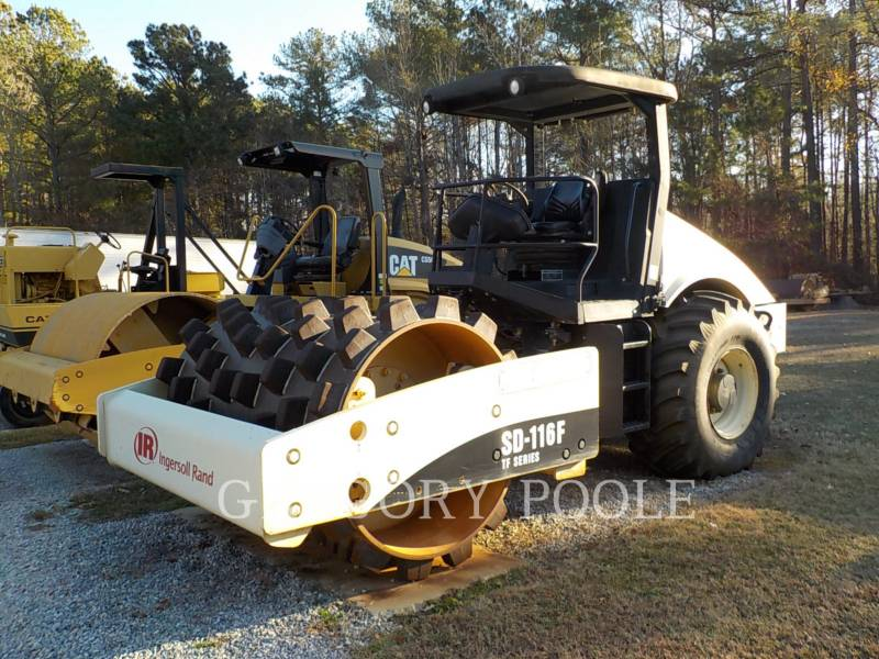 INGERSOLL-RAND COMPACTEUR VIBRANT, MONOCYLINDRE LISSE SD116 equipment  photo 1