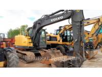 Equipment photo VOLVO CONSTRUCTION EQUIPMENT ECR145CL KETTEN-HYDRAULIKBAGGER 1