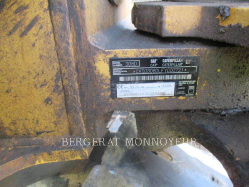 CATERPILLAR TRACK EXCAVATORS 308DCRSB equipment  photo 10