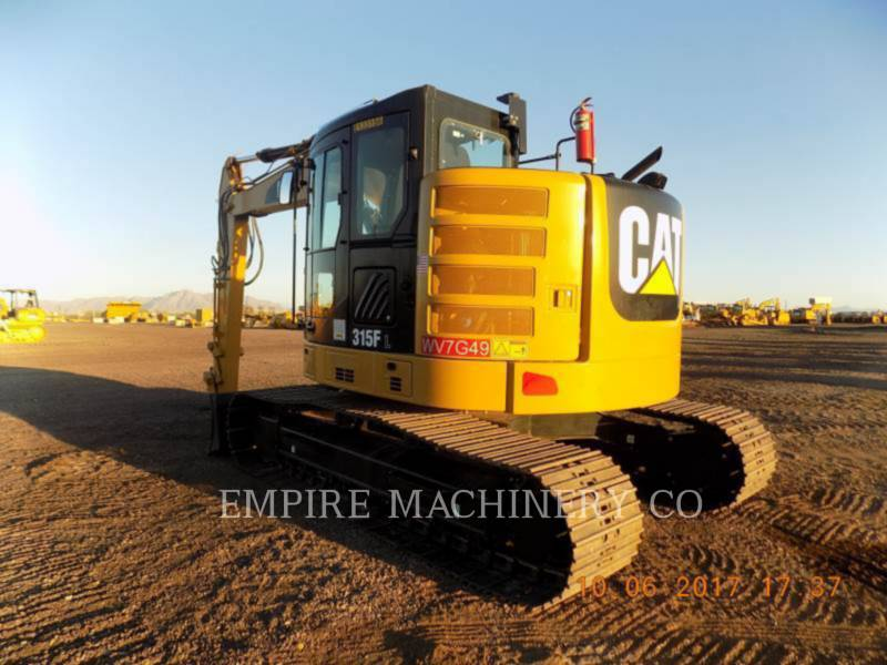 CATERPILLAR EXCAVADORAS DE CADENAS 315FL    P equipment  photo 3