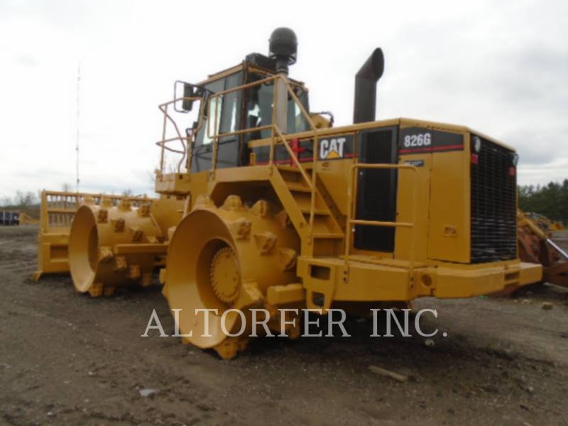 CATERPILLAR COMPACTEURS 826GII equipment  photo 4