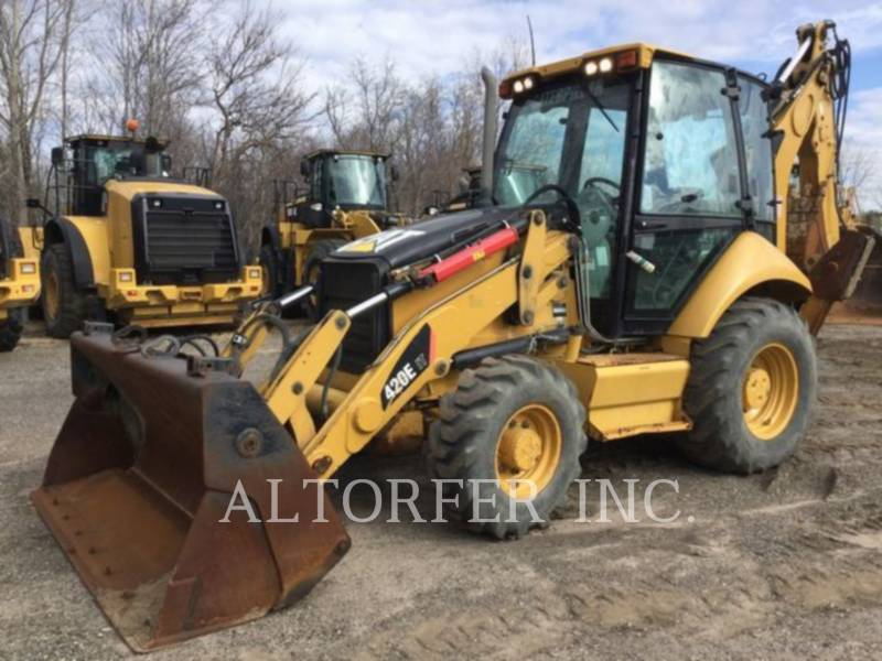 CATERPILLAR RETROESCAVADEIRAS 420E IT equipment  photo 1