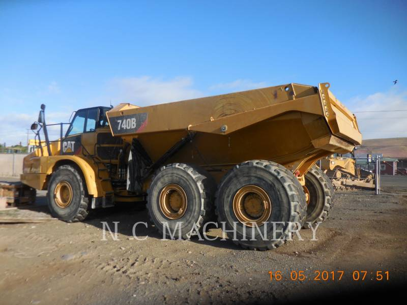 CATERPILLAR ARTICULATED TRUCKS 740B equipment  photo 3
