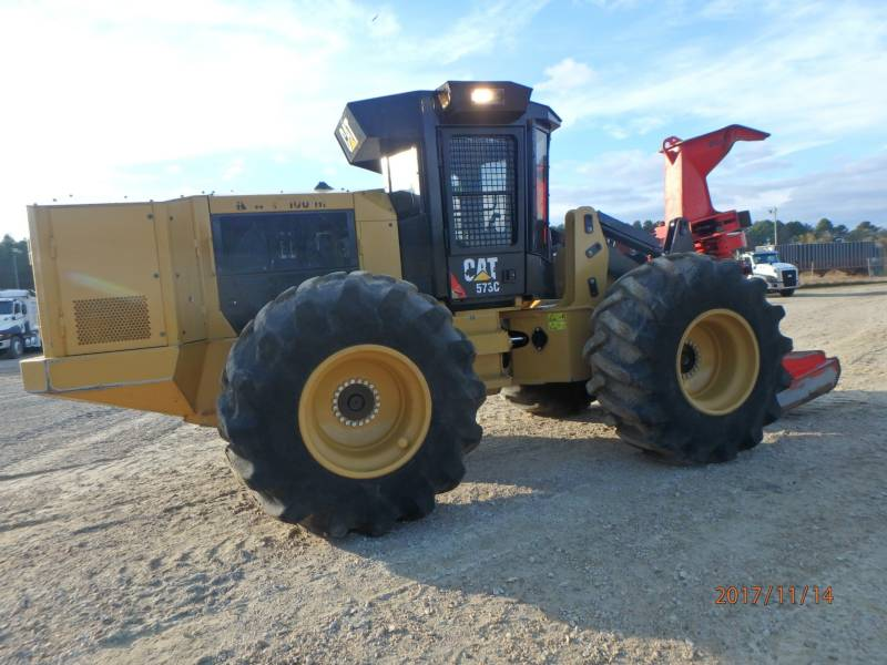 CATERPILLAR FORESTRY - FELLER BUNCHERS - WHEEL 573C equipment  photo 5