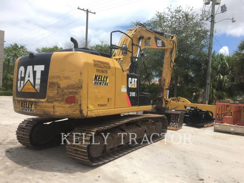 CATERPILLAR KETTEN-HYDRAULIKBAGGER 318EL equipment  photo 5