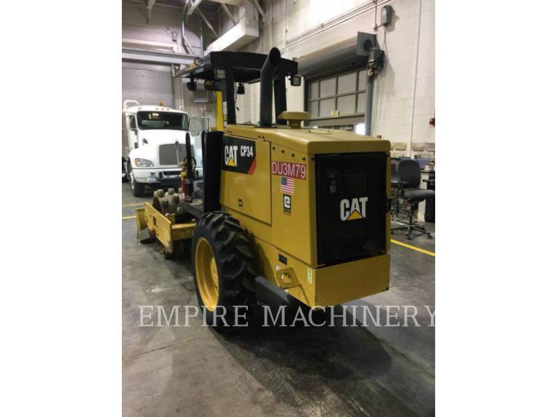 CATERPILLAR VIBRATORY SINGLE DRUM PAD CP34 equipment  photo 1