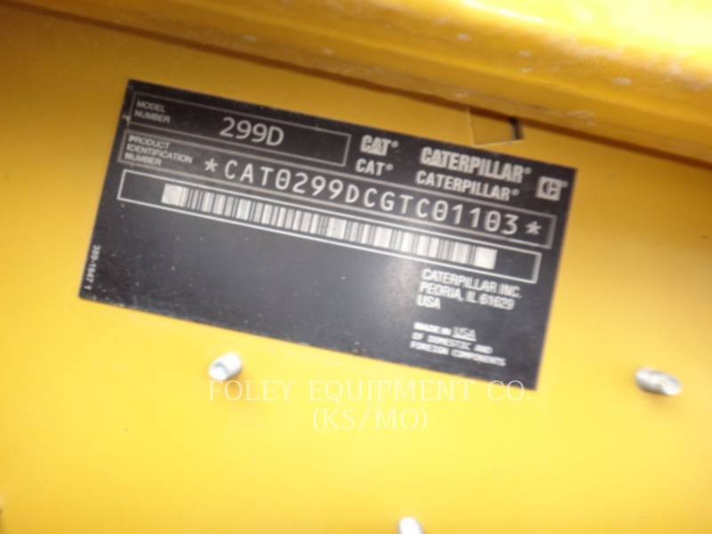 CATERPILLAR SKID STEER LOADERS 299DSTD2CA equipment  photo 6