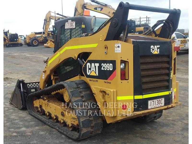 CATERPILLAR CHARGEURS TOUT TERRAIN 299D equipment  photo 3