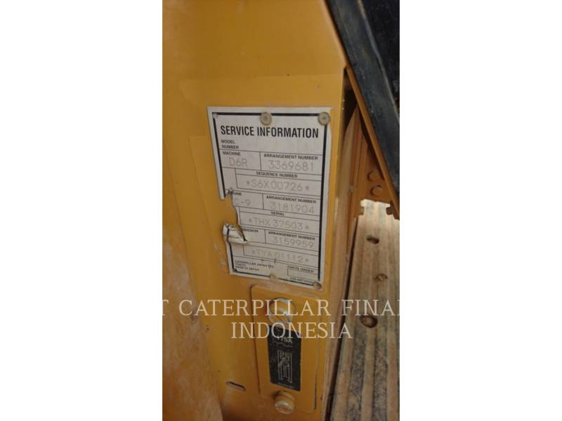 CATERPILLAR TRACTORES DE CADENAS D6R equipment  photo 2