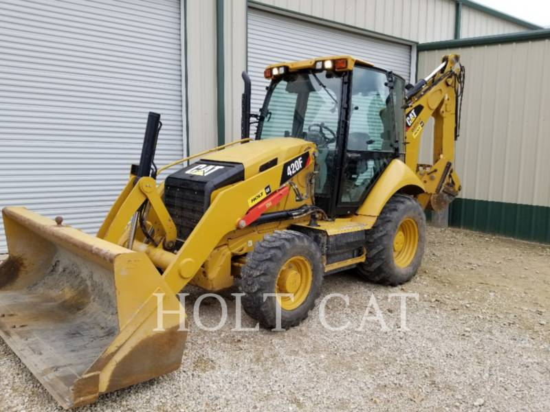 CATERPILLAR CHARGEUSES-PELLETEUSES 420F C4E equipment  photo 1