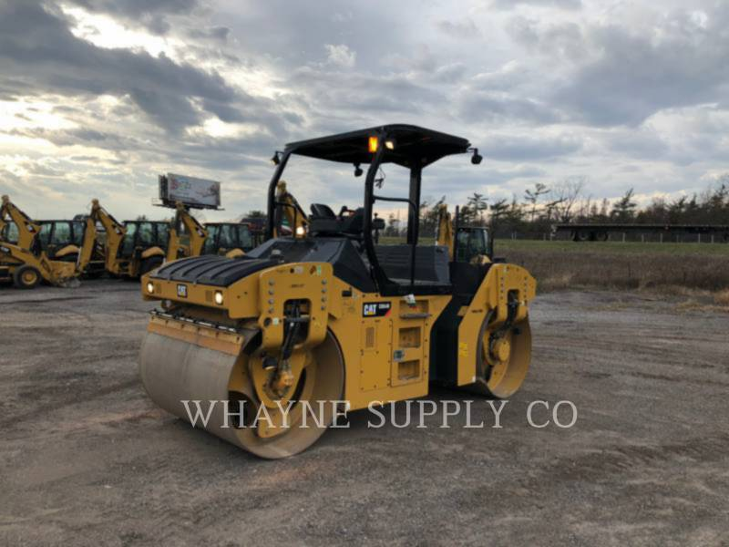 CATERPILLAR TAMBOR DOBLE VIBRATORIO ASFALTO CB54B equipment  photo 2