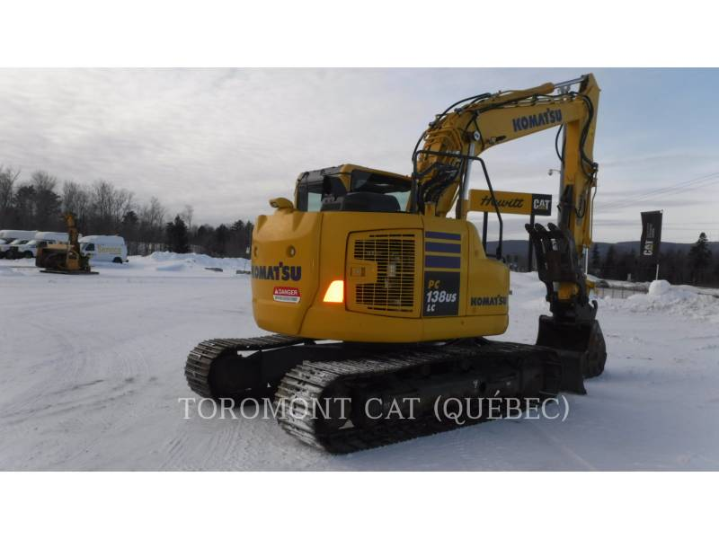 KOMATSU PELLES SUR CHAINES PC138 US LC equipment  photo 3