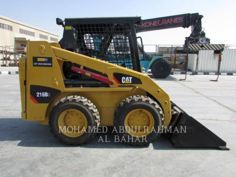 CATERPILLAR SKID STEER LOADERS 216 B SERIES 3 equipment  photo 6
