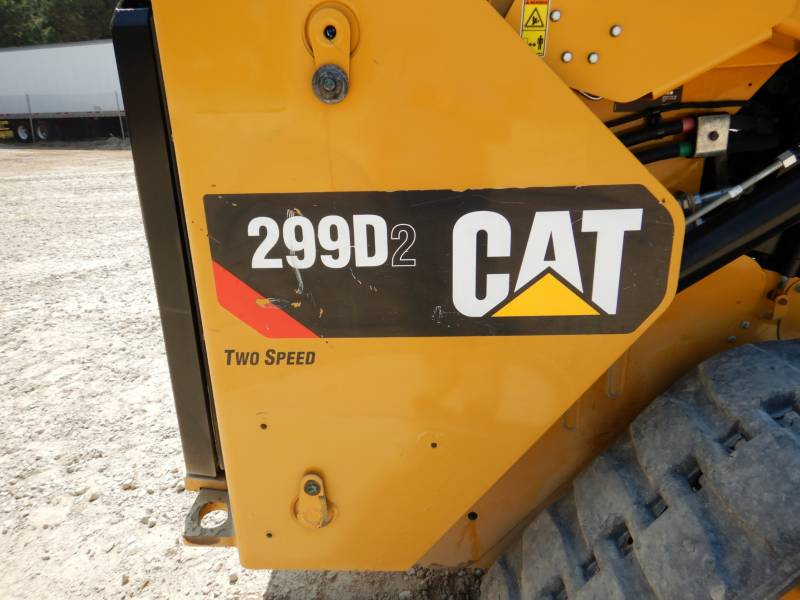 CATERPILLAR PALE CINGOLATE MULTI TERRAIN 299 D 2 equipment  photo 20