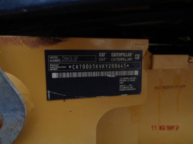 CATERPILLAR TRACTEURS SUR CHAINES D5K2LGP equipment  photo 22