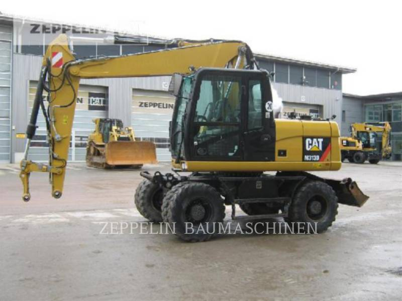 CATERPILLAR WHEEL EXCAVATORS M313D equipment  photo 1