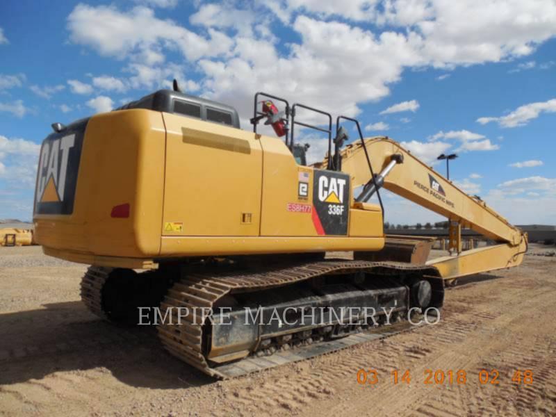 CATERPILLAR TRACK EXCAVATORS 336FL LR equipment  photo 2