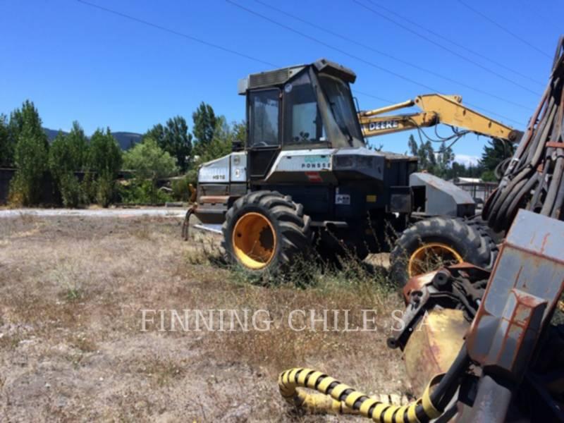PONSSE FORESTRY - FELLER BUNCHERS - WHEEL ERGO HS16 equipment  photo 12