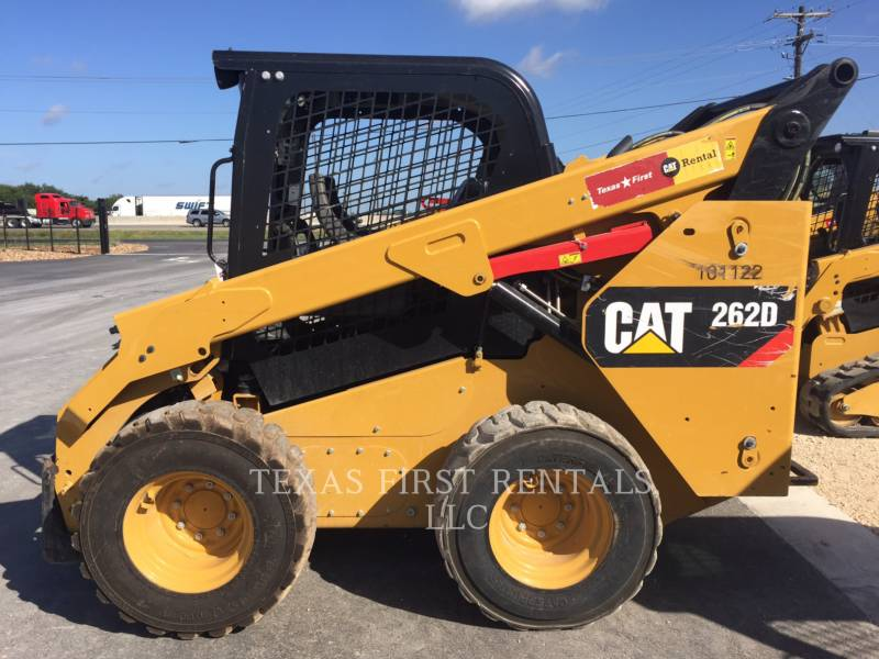 CATERPILLAR MINICARREGADEIRAS 262 D equipment  photo 1
