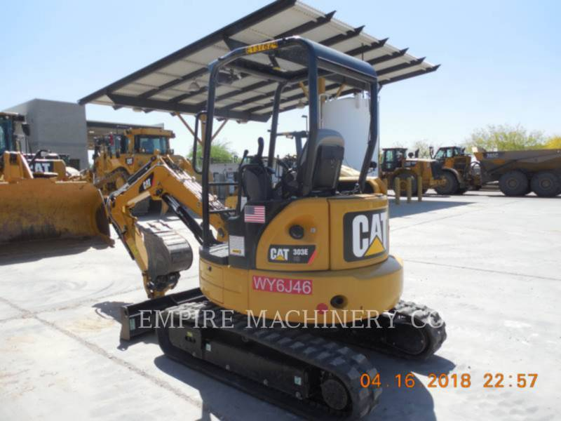 CATERPILLAR EXCAVADORAS DE CADENAS 303E OR equipment  photo 3